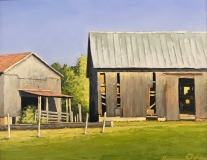 Two Barns, Kevin H. Adams