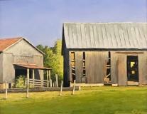 Two Barns, Kevin H. Adams