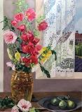 "Inside Out, Outside In, Mary Allen, Watercolor, 30""x22"""
