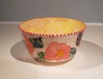 Sara Schneidman, Flowers, 11.25x6, ceramics
