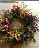 Jen Cable, Autumn Florals & Foraged Seasonal Wreath