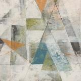 Martha Prideaux, Virginia Spring, Cold Wax on Wood Panel, 12x12