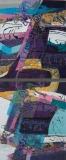 Woven Dreams II, Benita Rauda Gowen, collage dyptich