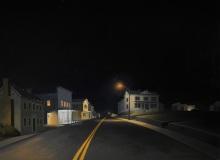 "Flint Hill North, Thomas Mullany, Oil on Panel, 36""x 48"""
