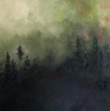 Just Breathe, Jennifer Tepper Heverly, acrylic on canvas, 24x24