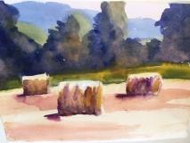 First Cutting, Nancy Keyser, watercolor