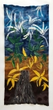 Seasons of the American Chestnut, Dabney Kirchman, handmade merino wool felt, 60 x 62