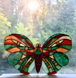 Stained Glass Butterfly, Heidi Morf
