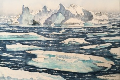 Break Up of the Ice Sheet, Phyllis Northup