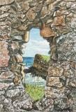 Windows through Time, Dunluce Castle, Phyllis Northup