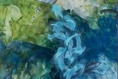Tumbling, Pam Pittinger, Acrylic, 36x24