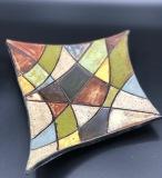 Doris Jones Plate 10x6x2 Stoneware