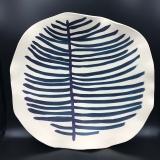 Susan Hornbostel Platter Plant Form 15x16 Stoneware