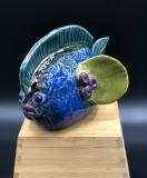 Doris Jones Fish 4.5x7x6 Stoneware