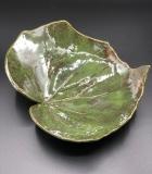 Sara Adams Leaf 8x8x3 Stoneware