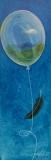 My Blue Heaven, Bonnie Dixon, oil on canvas