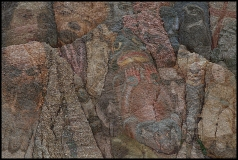 Ganseki Koan-1, Jim Serbent, digital collage realized as archival pigment print 24 x 36