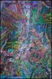 Tatemono-Koan-4, Jim Serbent, digital collage realized as archival pigment print 36 x 24