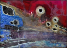 Untitled-5-(passaic), Jim Serbent, digital collage realized as archival pigment print 42 x 60