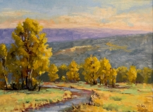 Blue Ridge Autumn, Nedra Smith, oil 18 x 24