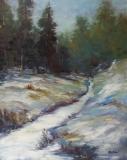 Dakota Winter, Nedra Smith, oil 30 x 24