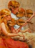 Duet, Nedra Smith, oil 24 x 18