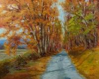 The Path Taken, Nedra Smith, oil 24 x 30