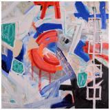 Anything II, Adam Disbrow,  Acrylic on Canvas 36x36
