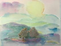 Lemon Ice, Jane Forth, watercolor, 11x14