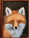 Fox, Geneva welch, oil canvas, 11x13