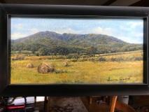 Old Rag, Geneva Welch, Oil On Canvas, 10x20